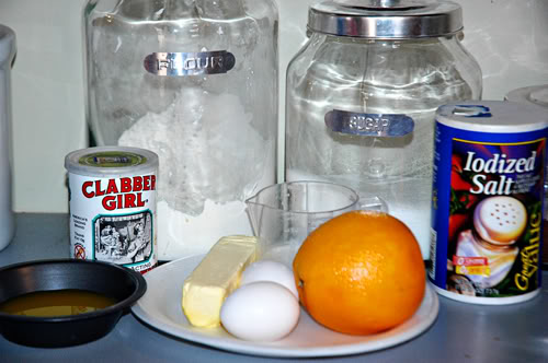 orange cake ingredients