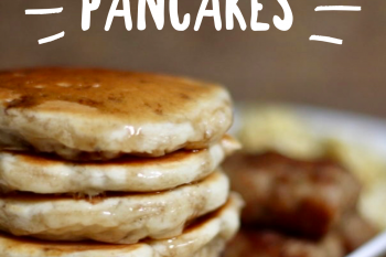 Homemade Pancakes Recipe