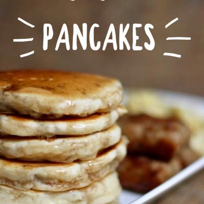 Old Fashioned Homemade Pancakes Recipe – Basics