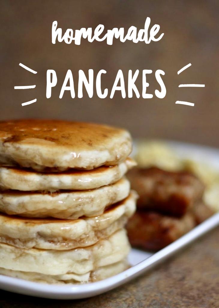 Homemade Pancakes Recipe
