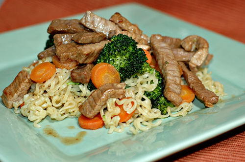 Asian Beef & Broccoli with Noodles