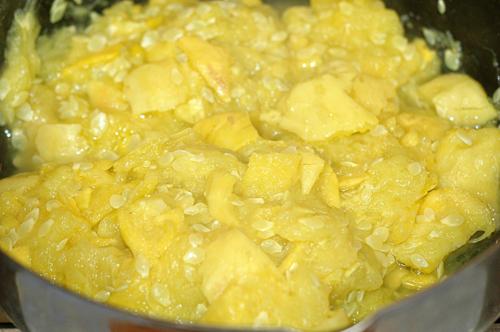 Mashed Yellow Squash