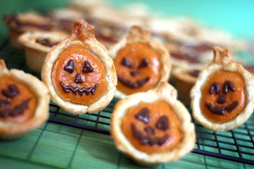 pumpkin pie bites from bakerella