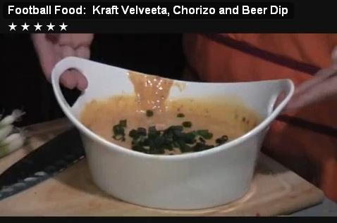 VELVEETA Beer and Chorizo Dip!