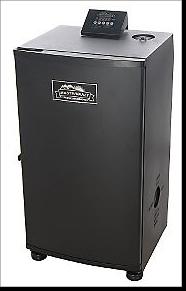 Masterbuilt 20070106 30-Inch Electric Smokehouse Smoker, Black  Patio, Lawn nd Garden