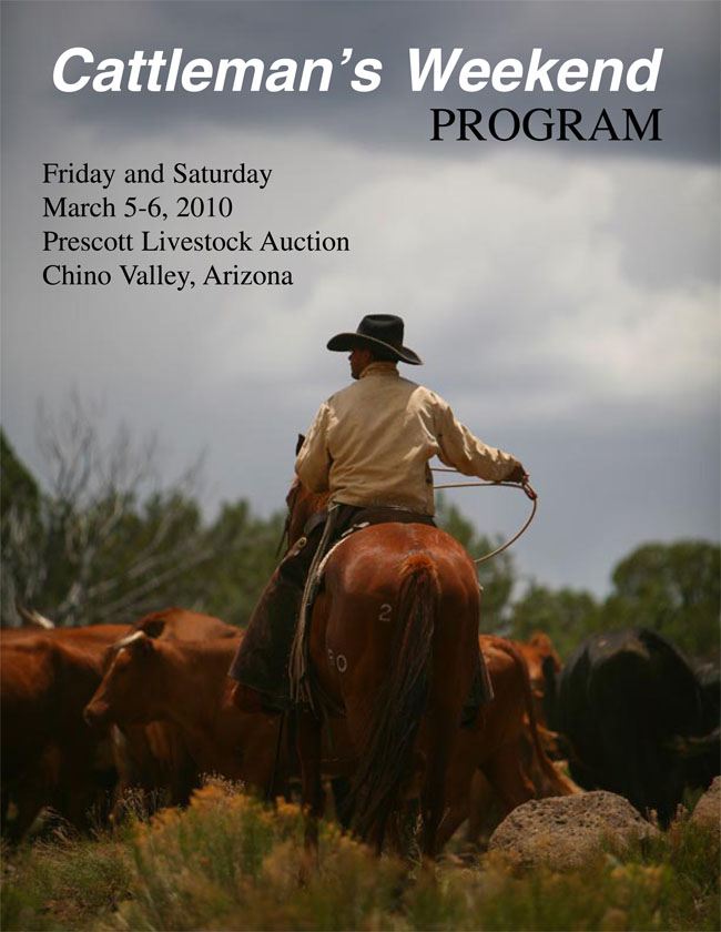 On the Cover of Cattleman's Weekend (my nephew)