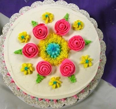 Wilton Cake Decorating-Flowers