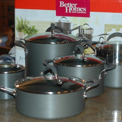 A Look at BGH Hard Anodized Cookware