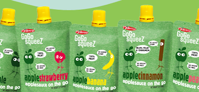 GaGa Over GoGosqueeZ Applesauce on the Go