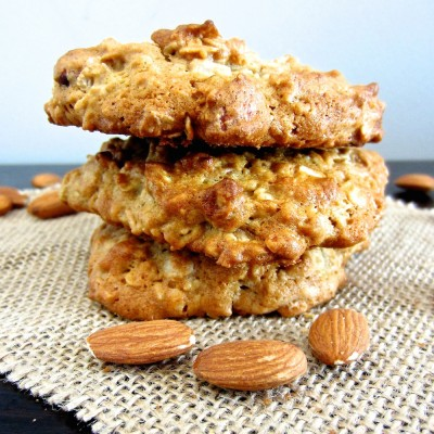 Banana Nut Oatmeal Cookies
