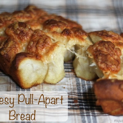 Easy Cheesy Pull-Apart Bread Recipe with Five Ingredients