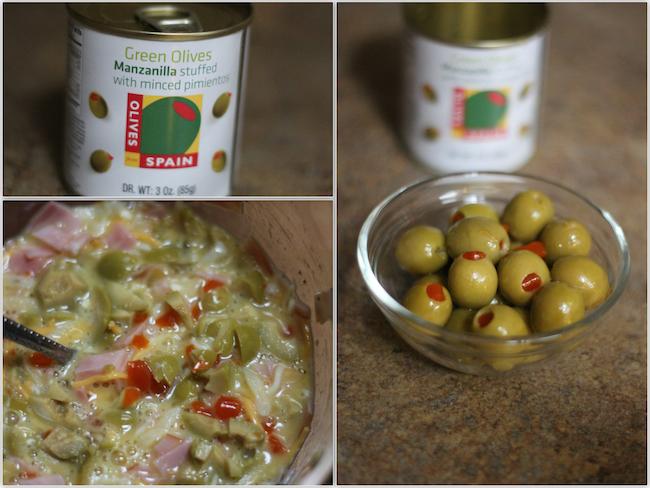 Spanish Olives collage