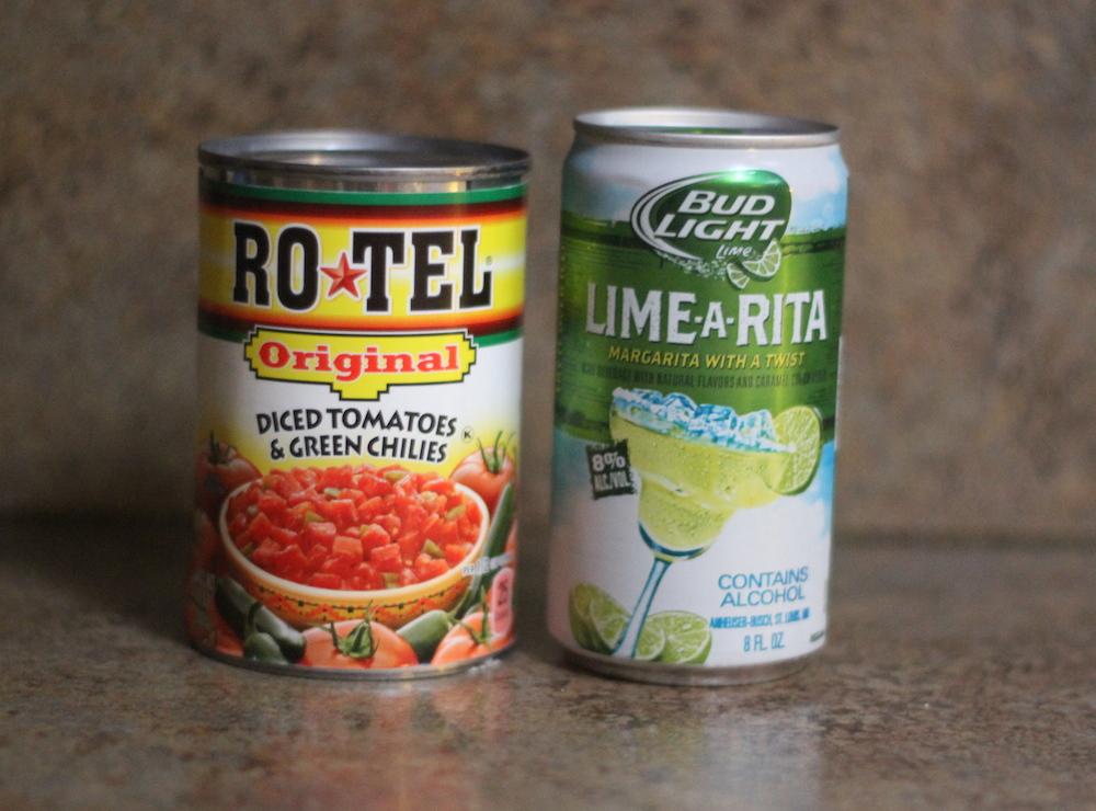 RO*TEL and Bud Light Lime*Rita