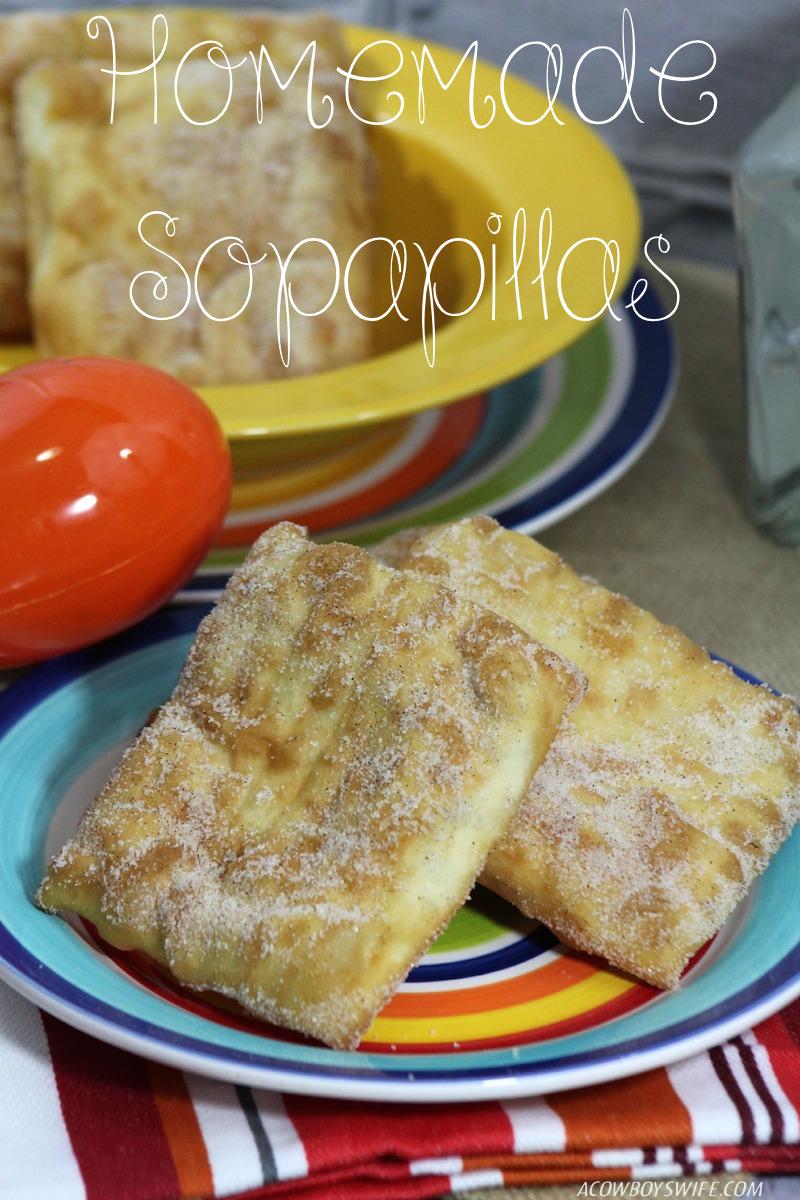 Homemade Sopapilla Recipe - A Cowboy's Wife