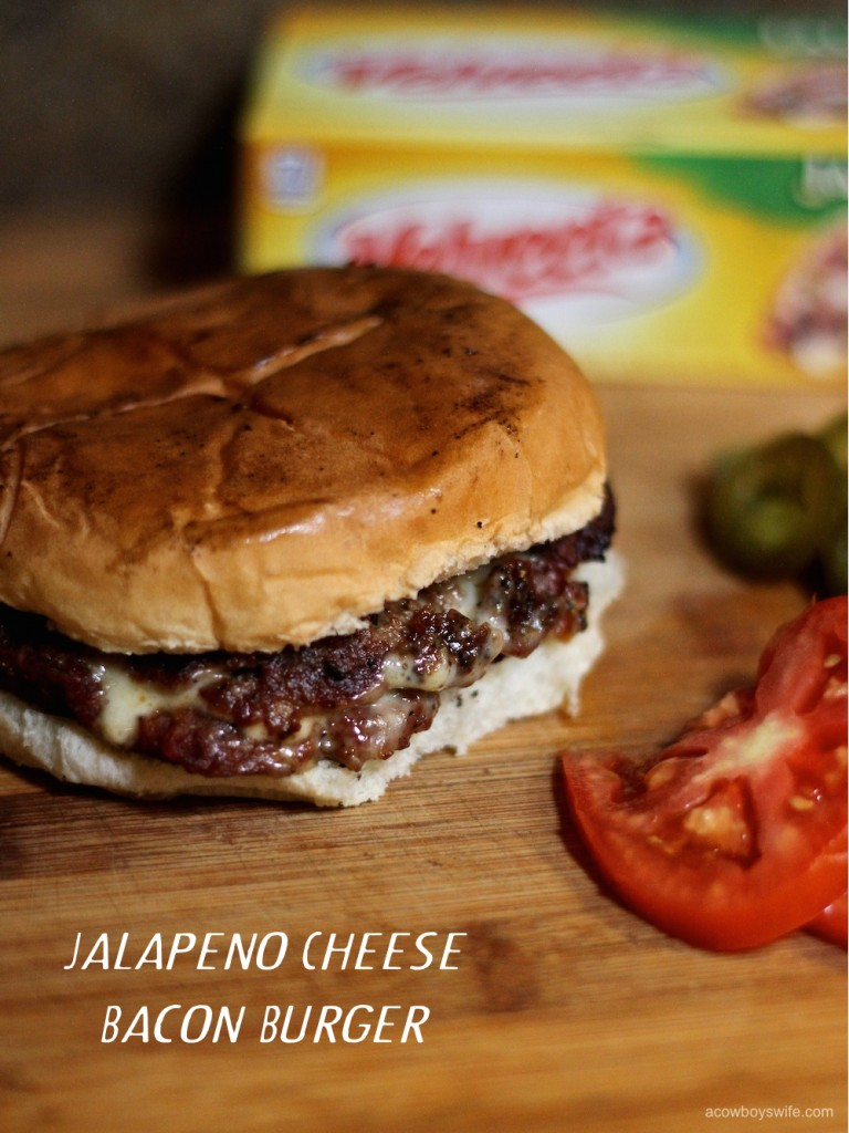 Jalapeno Cheese Bacon Burger