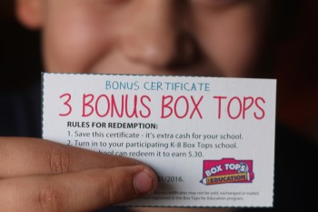 Box Tops Games and Double Donation