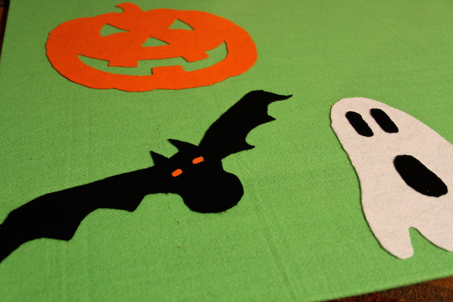 felt board for halloween