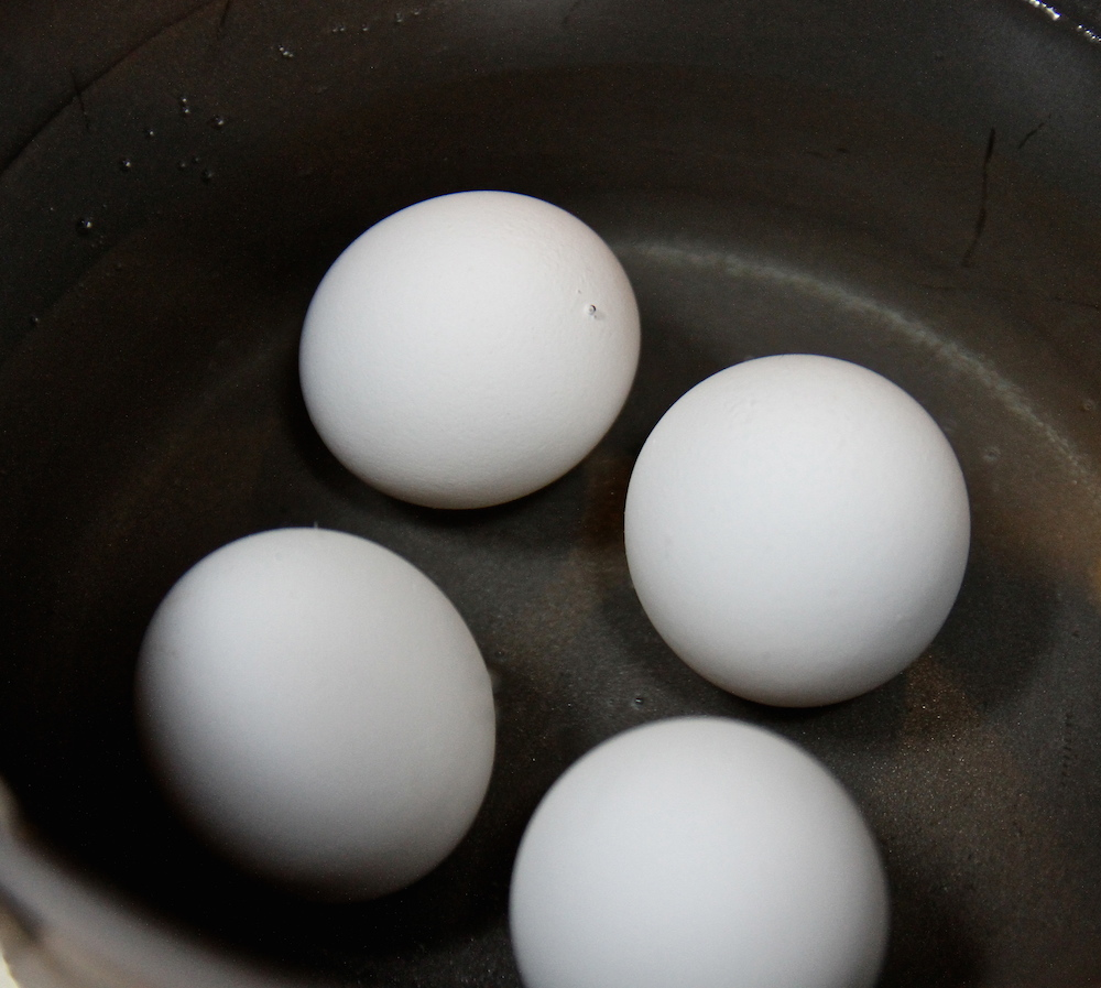 LoneStar Extra Large Eggs boiling