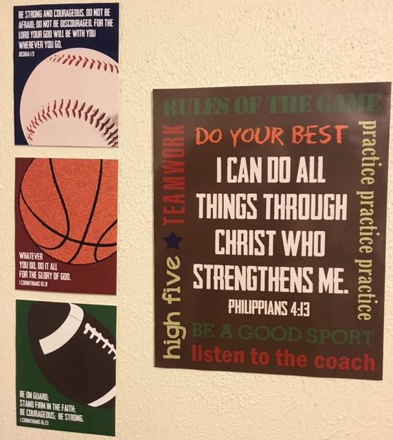 sports scripture quotes