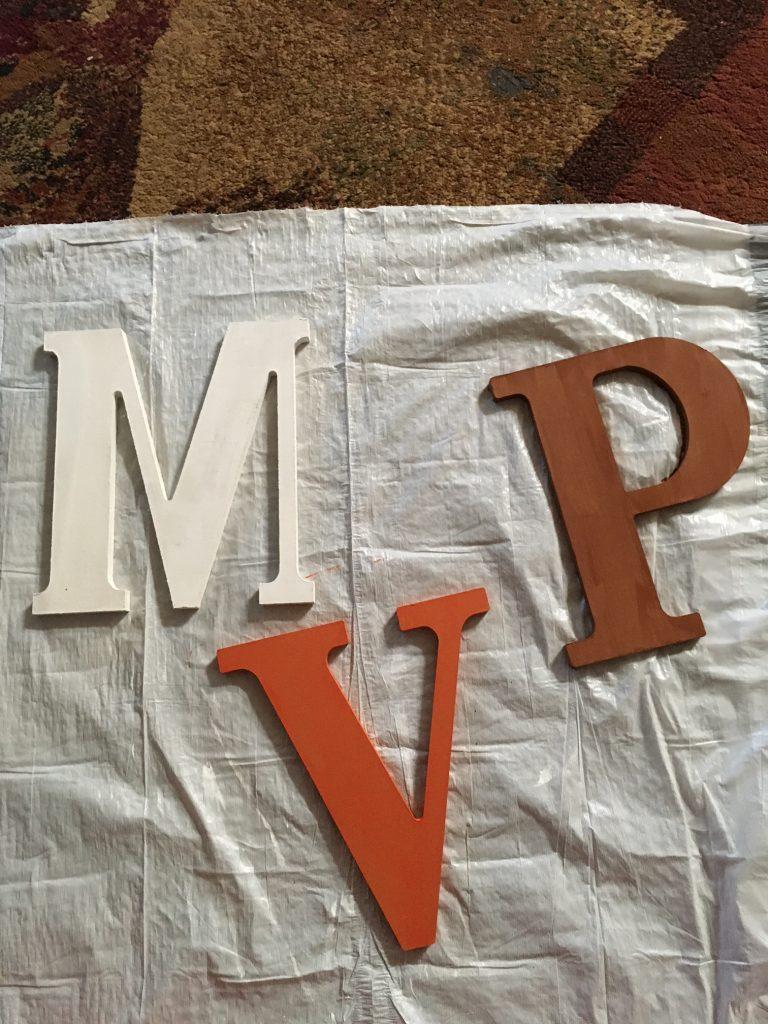MVP painted