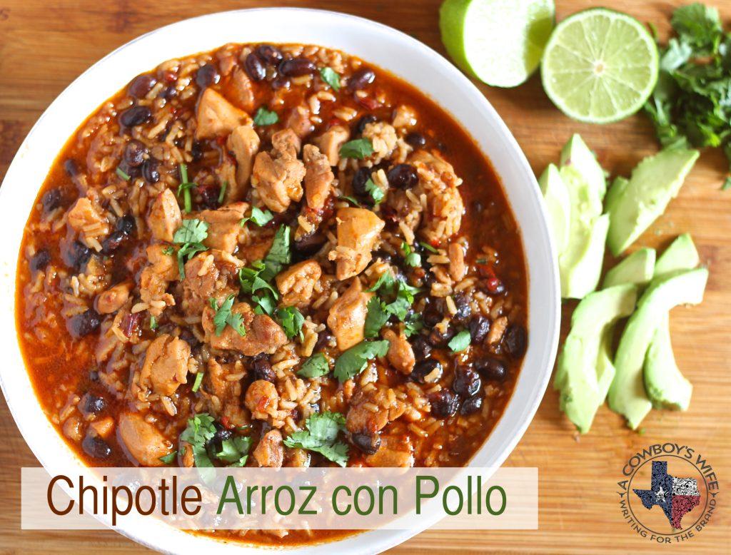 An Easy Mexican Soup – Chipotle Arroz con Pollo