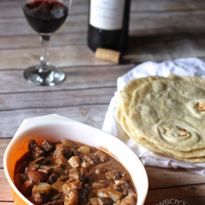 Red Wine Carne Guisada