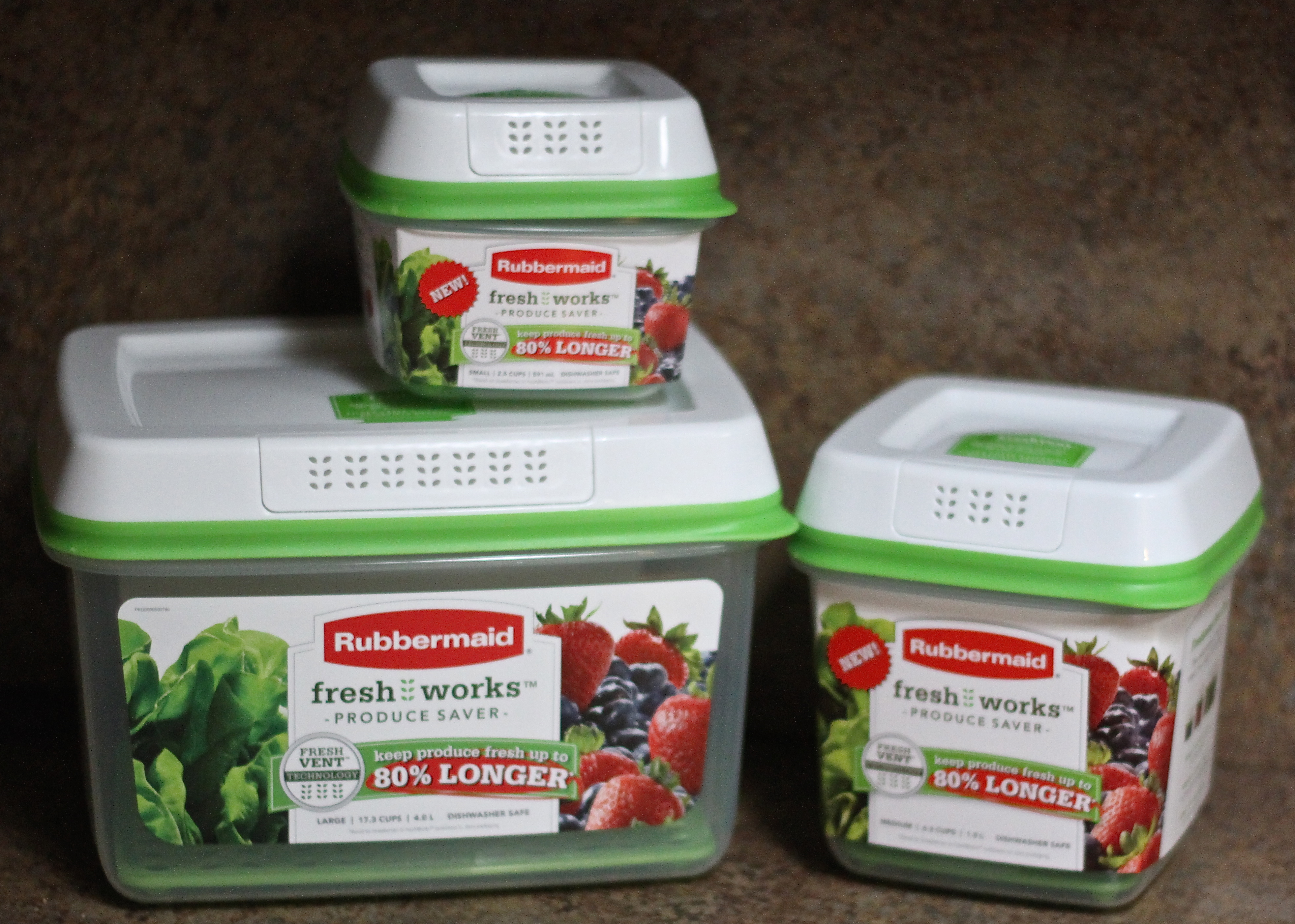 Vegetable Saver Containers Simple way to keep your produce fresh longer a cowboys wife want to win your own set of rubbermaid freshworks containers workwithnaturefo