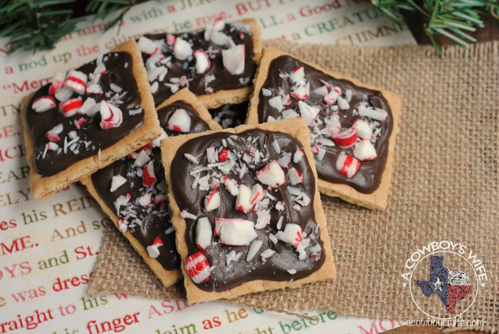 Christmas Treats – Chocolate & Peppermint Grahams