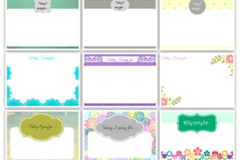 Free Prayer Cards Printables