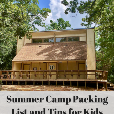Summer Camp Printable Packing List and Tips for Kids