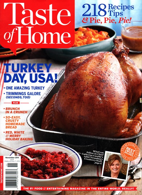 RARE Taste of Home Magazine Yearly Subscription for Less than $5!!