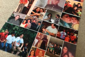 Making a Personalized Photo Blanket in Memory of My Parents