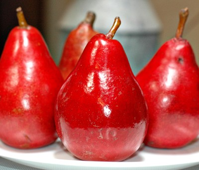 The Pear Facts and Red Anjou Pie