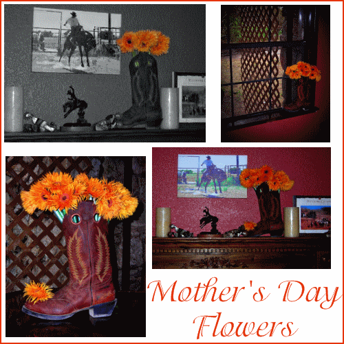 Mothers Day Pick: Fresh (or Fake) Flowers, Cowboy Style