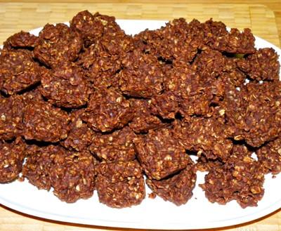 Chocolate Oatmeal No-Bakes