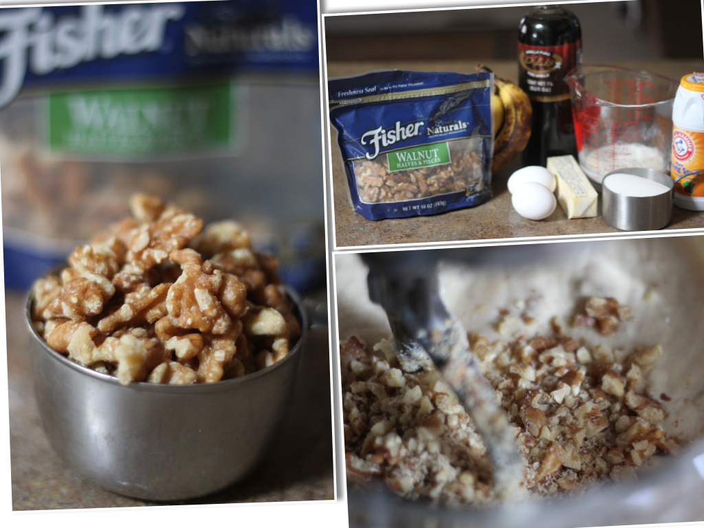Banana Walnut Cake Ingredients