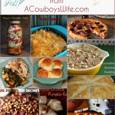 Best Recipes of 2013 from ACowboysWife.com