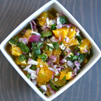 Healthy Celebrations with a Citrus Salsa Recipe