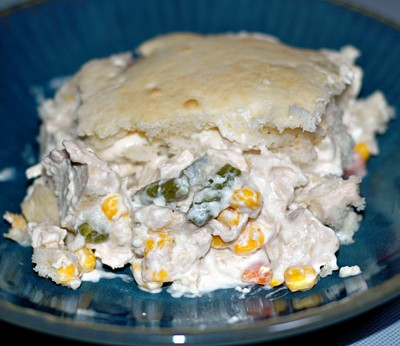 Creamy Chicken Pot Pie