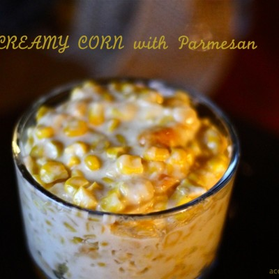 Creamy Corn with Parmesan