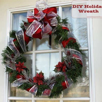 DIY Craft – Holiday Wreath
