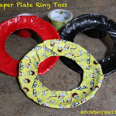 Kid Activities – Paper Plate Ring Toss!