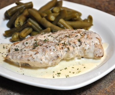 Easy Chicken with Lemon Butter Sauce