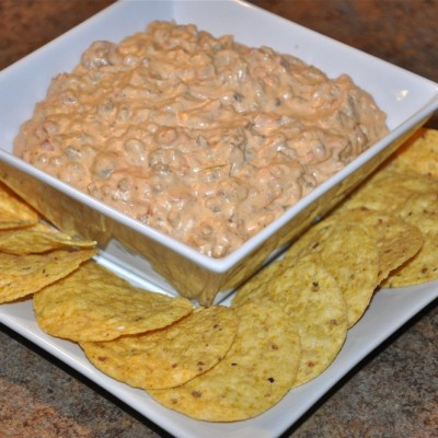 Spicy Buffalo, Meaty Cheese Dip