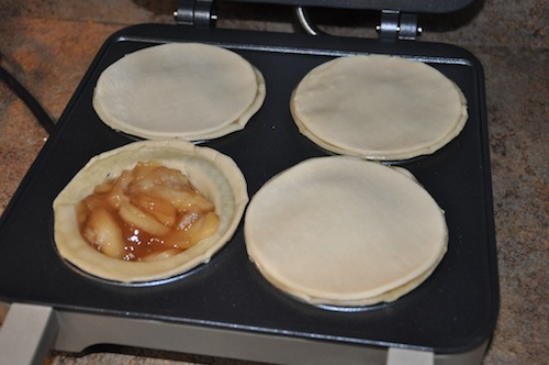 Mini Apple Pies with Breville's Pie Maker