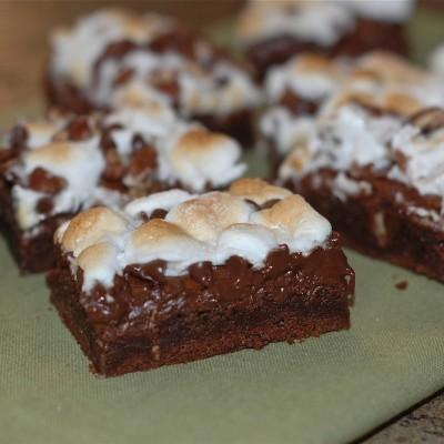 Rocky Road Brownies *drool*