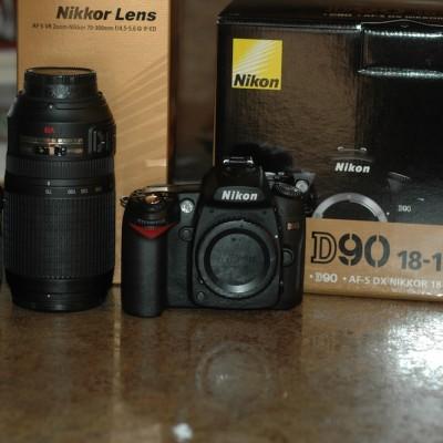 Nikon, Ghetto Frisbee, and Mini DP's