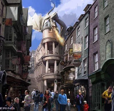 HOT NEWS! Diagon Alley Expansion at Wizarding World of Harry Potter