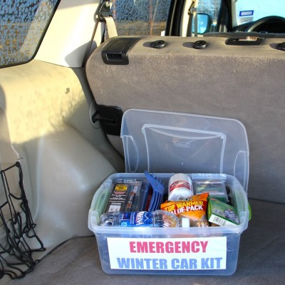 Winter Solutions – DIY Emergency Winter Car Kit