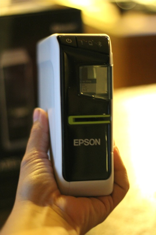 Epson LW-600P size